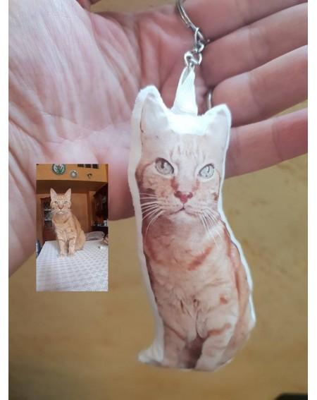 Portachiavi con foto Gatto