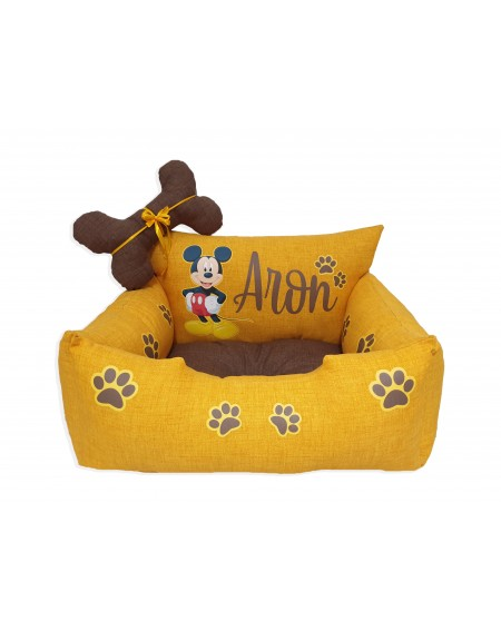Personalized Dog Bed Mickey Mouse
