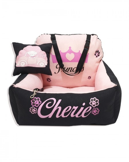 Personalized Dog Car Seat