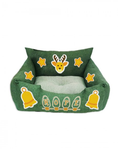 Cuccia natalizia per gatti Christmas Bells