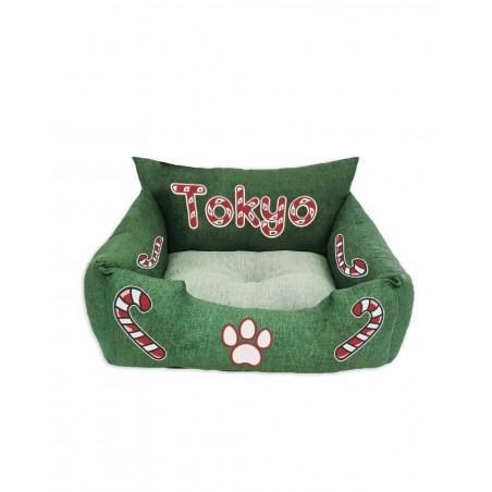 Cuccia natalizia per gatti Christmas Candy