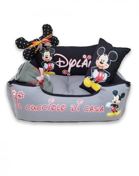 Personalized Dog Bed Mickey...