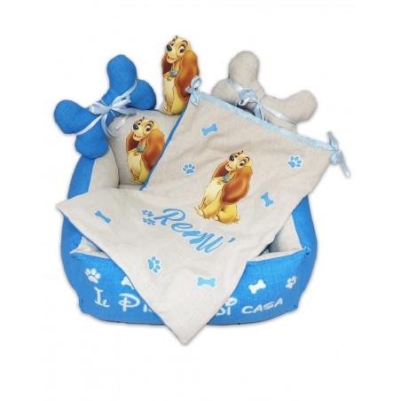Cuccia personalizzata per cane Disney Lilli