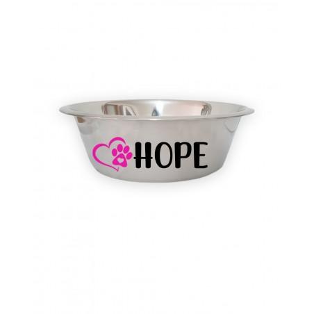Personalized Dog Bowl Heartpaw