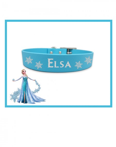 Personalized Collars Dog's Name Frozen
