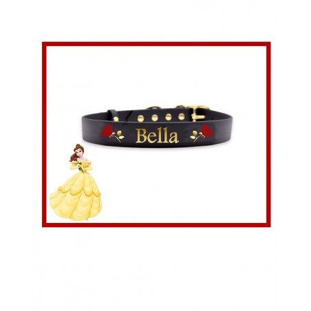 Personalized Collars Dog's Name Belle