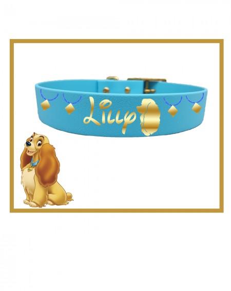Collare personalizzato con nome per cani modello Lilli e il Vagabondo