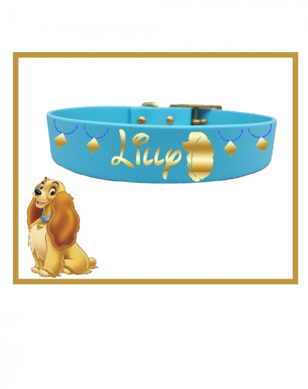 Personalized Collars Dog's Name Lady and the Tramp