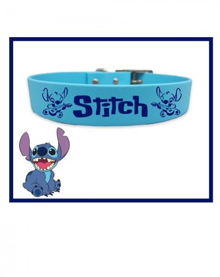 Collare personalizzato con nome per cani modello Stitch