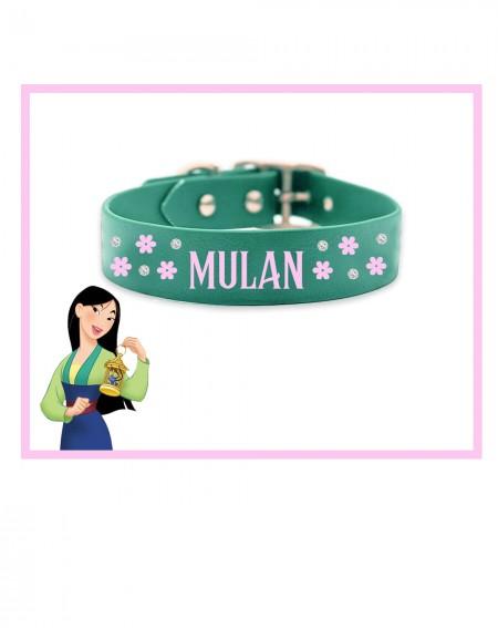 Collare personalizzato con nome per cani modello Mulan
