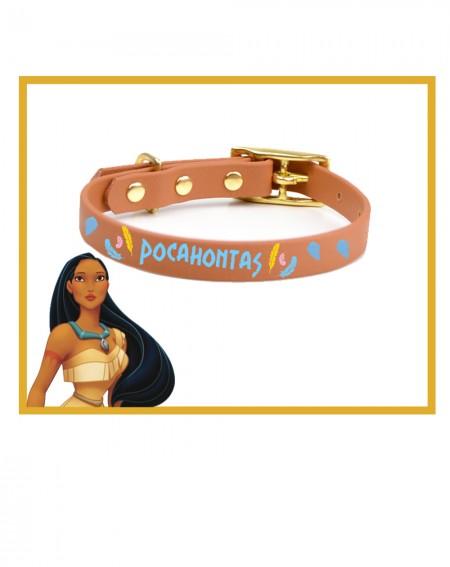 Collare personalizzato con nome per cani modello Pocahontas