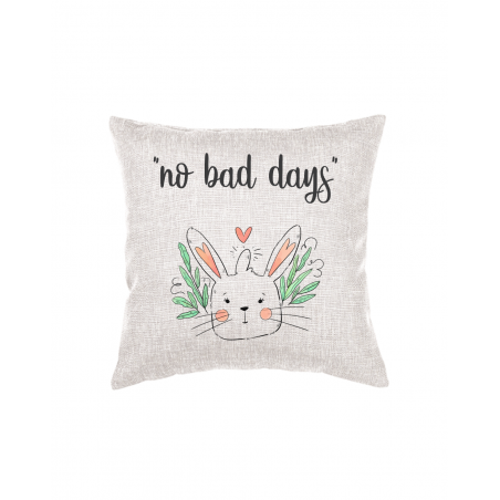 Throw Pillow with text and graphics Dog