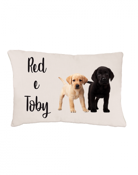 Double Bed for Dogs personalized with photo