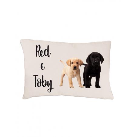 Cuccia Doppia per Cani personalizzata con foto