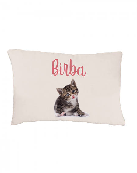 Personalized soft cat bed