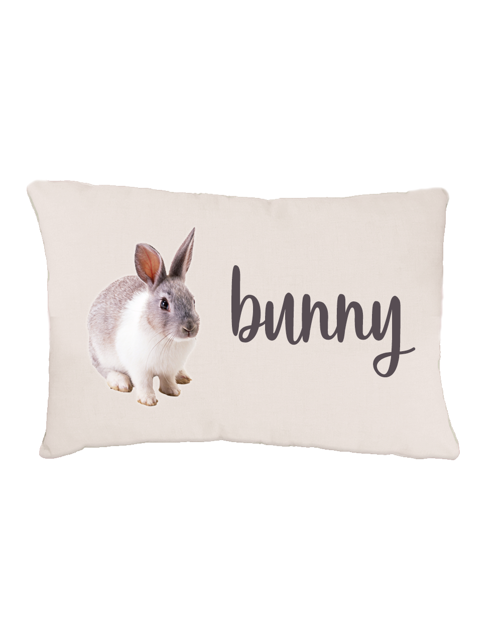 Personalized soft bunny bed