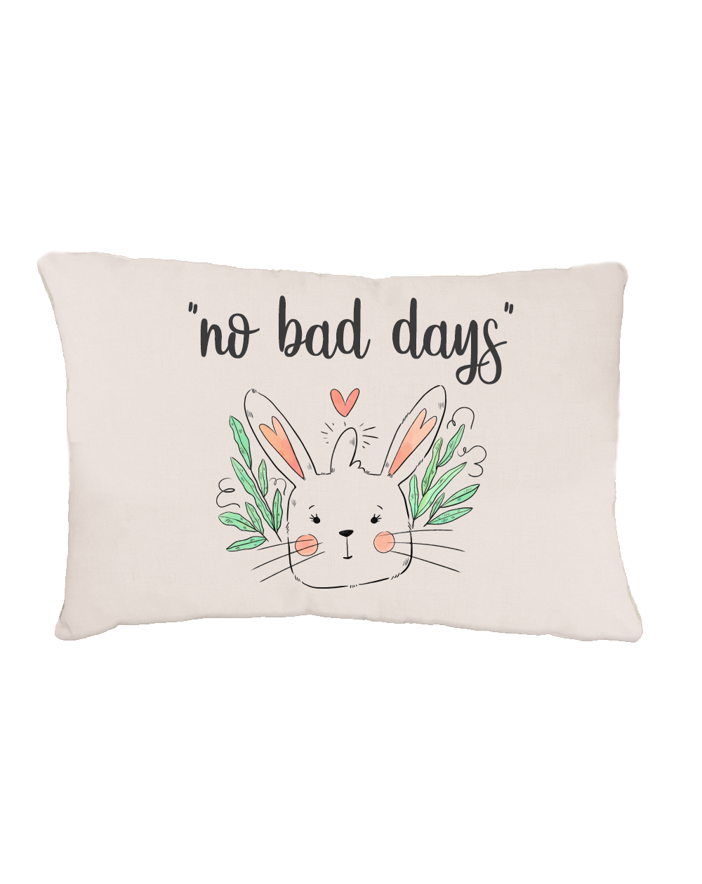 Bed for Bunnies personalized with text