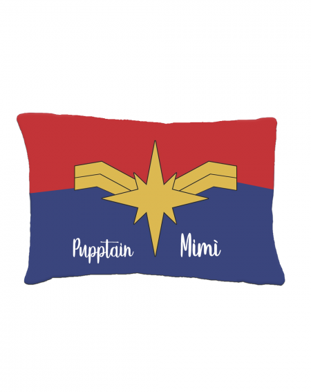 Bed for pets personalized Captain Marvel
