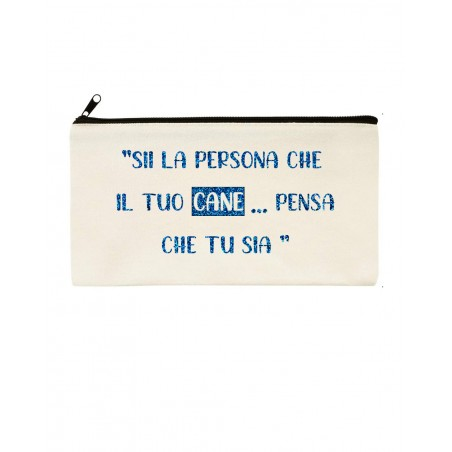 Personalized Pochette with text